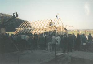 1992 construction of the first customer biogas plants