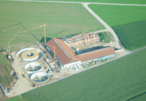 2006 Commissioning of the biogas plant in Stangern