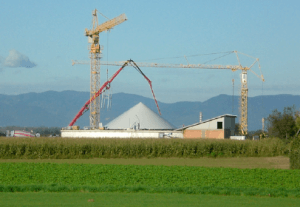 2006 Construction of the biogas plant Binder