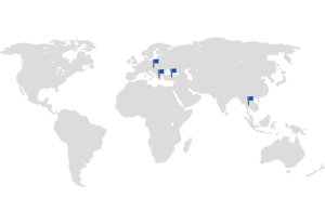 2015 biogas plants in Greece, Thailand, Hungary and Turkey
